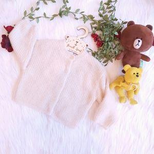 ZARA Baby Girl Knitted Sparkle Cardigan W 12-18M